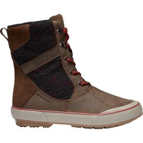 Keen Elsa II Wool WP Chaussures Femme, cascade brown/fried brick